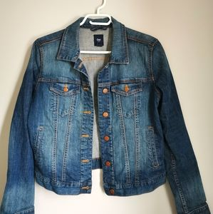 GAP Denim Washed Jean Jacket